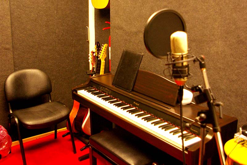 Acoustically Treated Vocal Booth