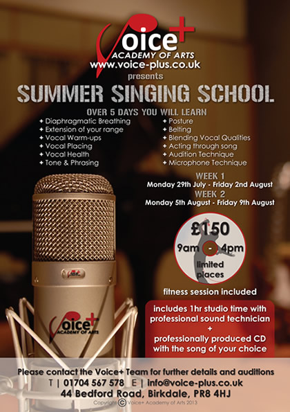 Summer Singing School in Southport